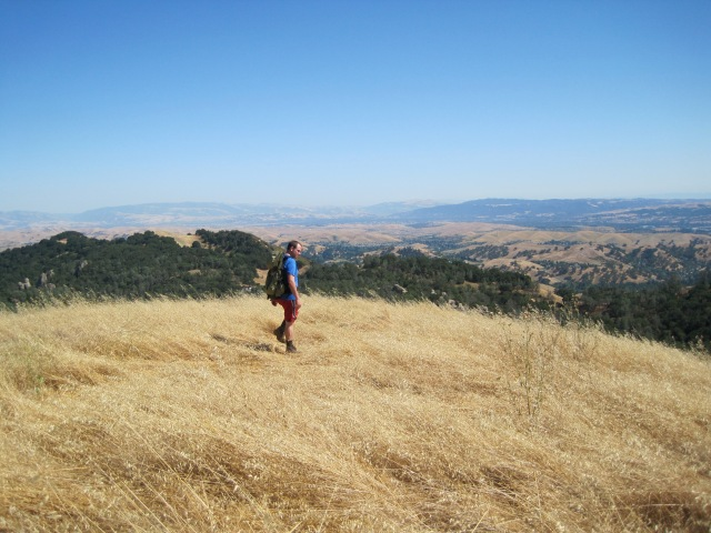 From Mt. Diablo in California... the hike that got me hooked on hiking thanks to Chris!