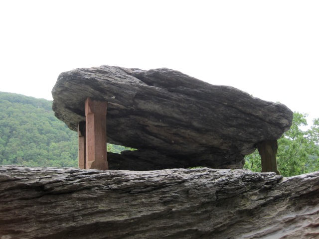 Jefferson Rock, May 2013.